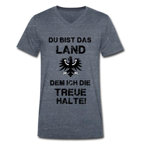 Tiroler Spruch - Männer Bio-T-Shirt mit V-Ausschnitt von Stanley & Stella
