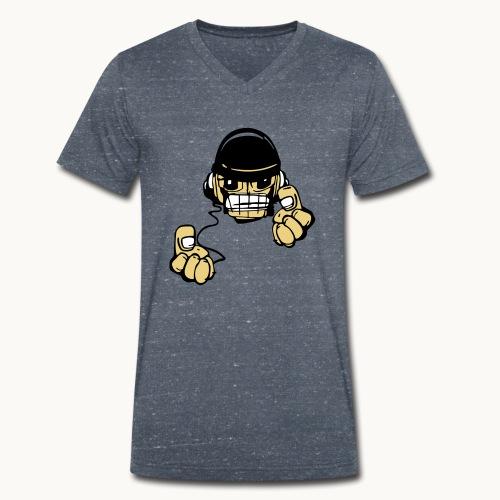 Micky DJ - T-shirt bio col V Stanley & Stella Homme