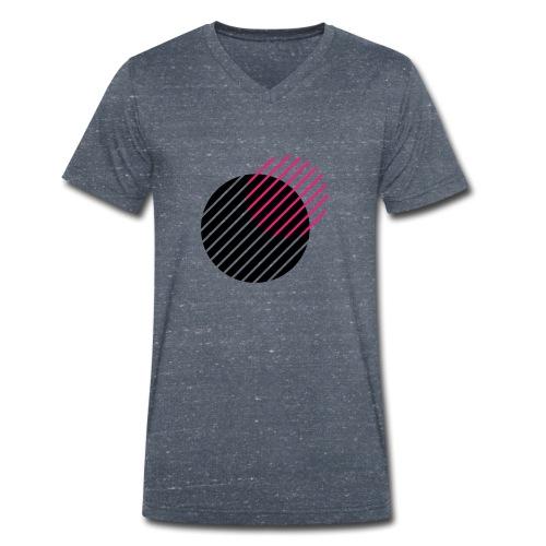 retro - Men's Organic V-Neck T-Shirt by Stanley & Stella