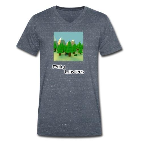 Poly Lovers - Camiseta ecológica hombre con cuello de pico de Stanley & Stella