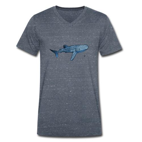 Whale shark - Männer Bio-T-Shirt mit V-Ausschnitt von Stanley & Stella