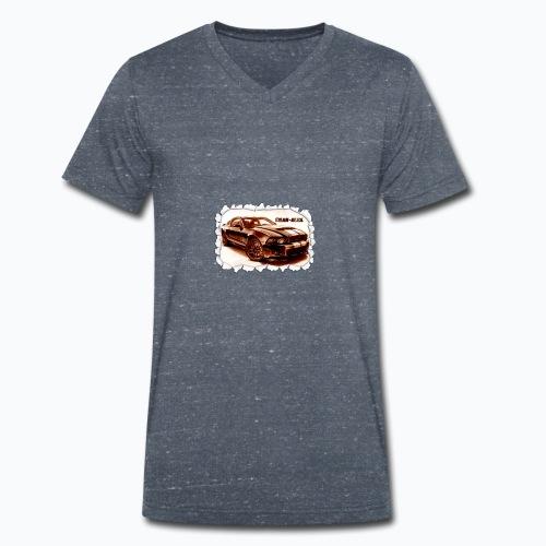 voiture - T-shirt bio col V Stanley & Stella Homme