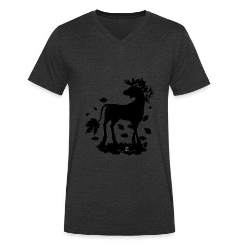 Energiewesen Alcunia - Männer Bio-T-Shirt mit V-Ausschnitt von Stanley & Stella