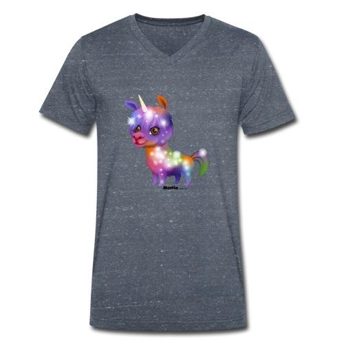 Lamacorn - Männer Bio-T-Shirt mit V-Ausschnitt von Stanley & Stella