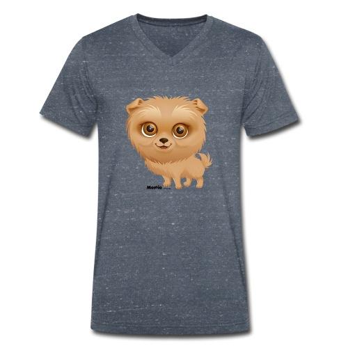 Dog - Økologisk T-skjorte med V-hals for menn fra Stanley & Stella