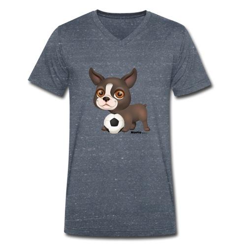 Hund - Økologisk Stanley & Stella T-shirt med V-udskæring til herrer