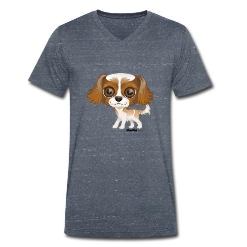 Hond - Mannen bio T-shirt met V-hals van Stanley & Stella