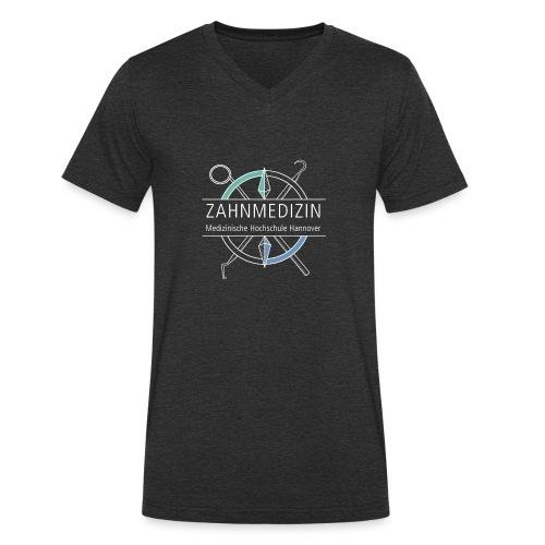 Zahnmedizin Hannover (weiß) - Männer Bio-T-Shirt mit V-Ausschnitt von Stanley & Stella