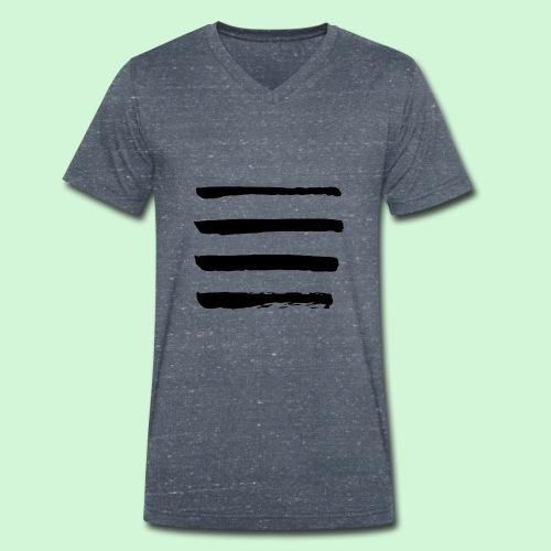Horizonte - Männer Bio-T-Shirt mit V-Ausschnitt von Stanley & Stella