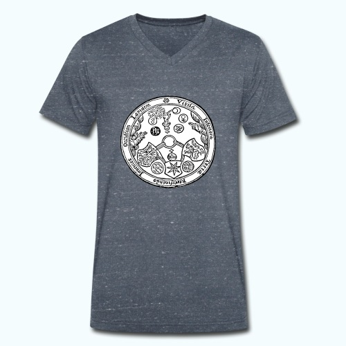 Alchemie - Men's Organic V-Neck T-Shirt by Stanley & Stella