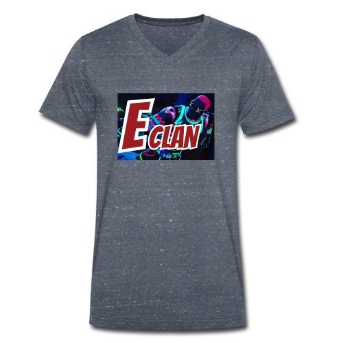 Elite x Clan Turnbeutel - Männer Bio-T-Shirt mit V-Ausschnitt von Stanley & Stella