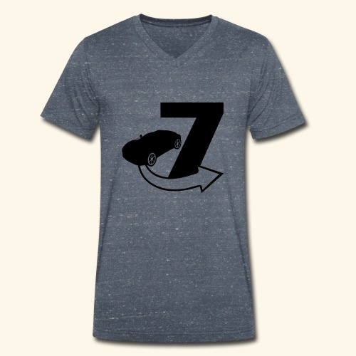 Seven / Fast and Furious - Men's Organic V-Neck T-Shirt by Stanley & Stella