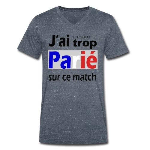 J'ai trop parié sur ce match - T-shirt bio col V Stanley & Stella Homme