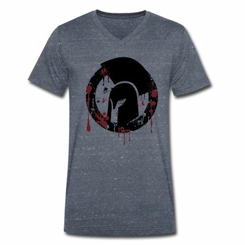 Spartans Pain Half Blood - Männer Bio-T-Shirt mit V-Ausschnitt von Stanley & Stella