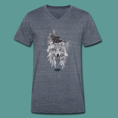 Mutagene Tattoo Pow Wow - T-shirt bio col V Stanley & Stella Homme