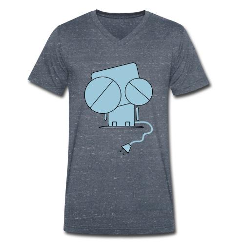 Robi - saftlos - Männer Bio-T-Shirt mit V-Ausschnitt von Stanley & Stella
