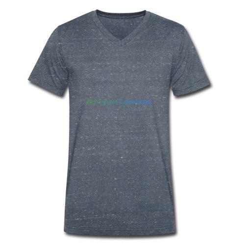 AddText 04 18 08 52 44 - Männer Bio-T-Shirt mit V-Ausschnitt von Stanley & Stella