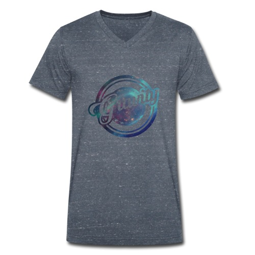 Spherical Gravity - Men's Organic V-Neck T-Shirt by Stanley & Stella