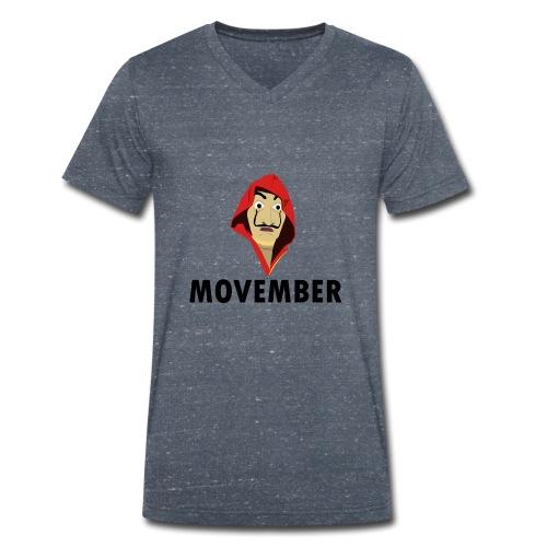 Le mois de la moustache - T-shirt bio col V Stanley & Stella Homme