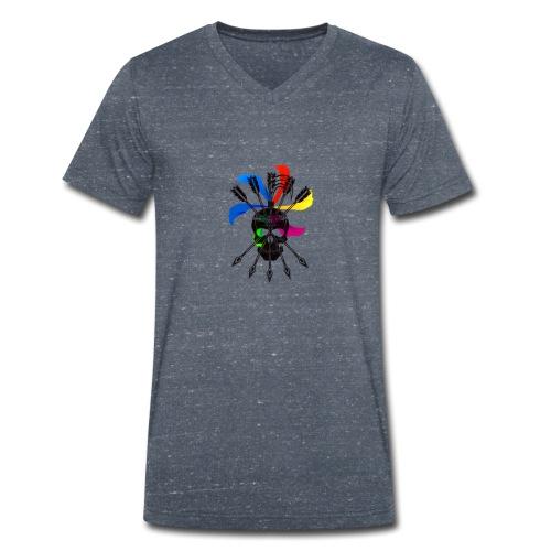 Blaky corporation - Camiseta ecológica hombre con cuello de pico de Stanley & Stella