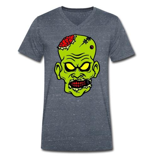 Zombie - Männer Bio-T-Shirt mit V-Ausschnitt von Stanley & Stella