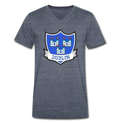 Dublin - Eire Apparel - Men's Organic V-Neck T-Shirt by Stanley & Stella