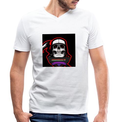 DerMagier432YT Shop - Männer Bio-T-Shirt mit V-Ausschnitt von Stanley & Stella
