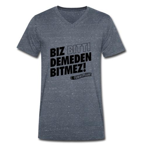 Bitmez! - Männer Bio-T-Shirt mit V-Ausschnitt von Stanley & Stella