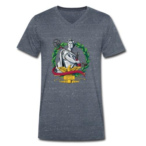 Imperium Detectorist - Camiseta ecológica hombre con cuello de pico de Stanley & Stella