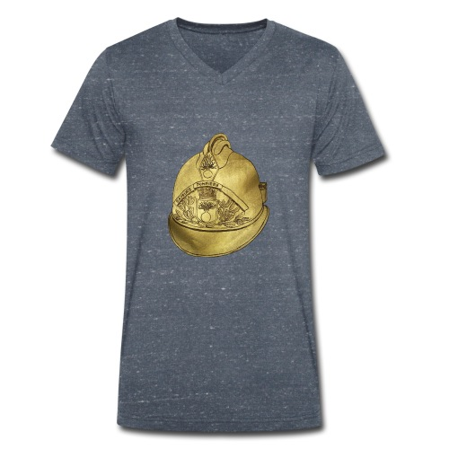 Casque pompier - T-shirt bio col V Stanley & Stella Homme