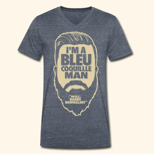 Design3 png - T-shirt bio col V Stanley & Stella Homme