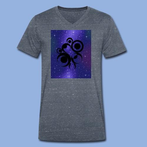 Should I stay or should I go Space 1 - T-shirt bio col V Stanley & Stella Homme