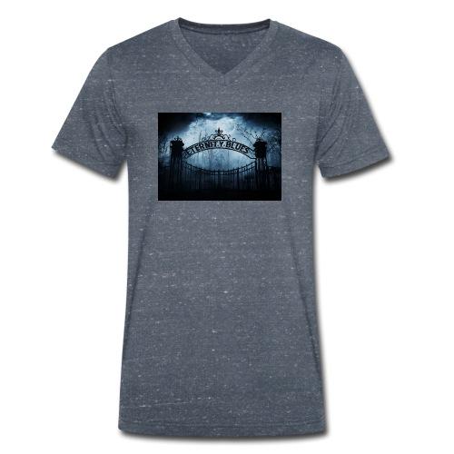 Eternity Blues - T-shirt ecologica da uomo con scollo a V di Stanley & Stella
