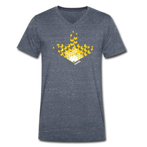 unity-navi - Männer Bio-T-Shirt mit V-Ausschnitt von Stanley & Stella