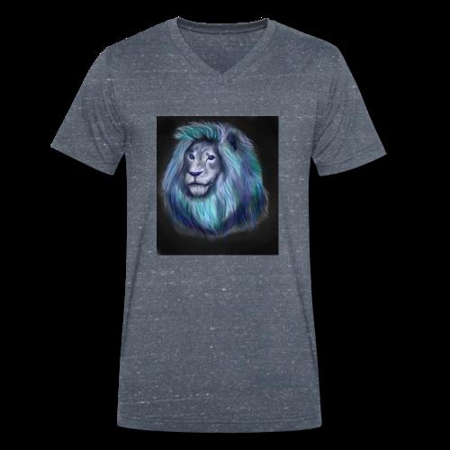 lio1 - Men's Organic V-Neck T-Shirt by Stanley & Stella