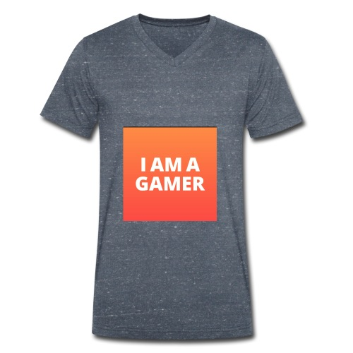 I AM A GAMER FASHION ACCESORIES - Men's Organic V-Neck T-Shirt by Stanley & Stella