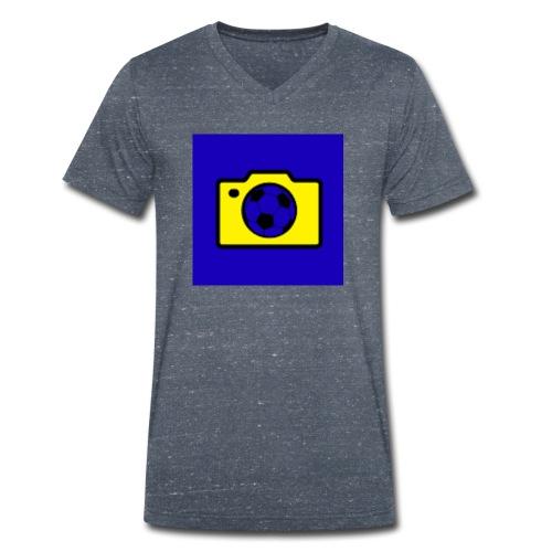 Marcel TV Logo - Männer Bio-T-Shirt mit V-Ausschnitt von Stanley & Stella