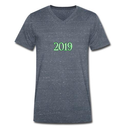 2019 - Men's Organic V-Neck T-Shirt by Stanley & Stella