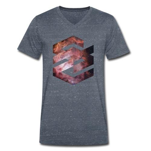 Geometische Galaxie Form - Männer Bio-T-Shirt mit V-Ausschnitt von Stanley & Stella