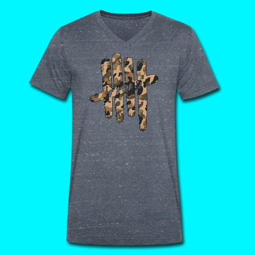 FIVES camo - T-shirt bio col V Stanley & Stella Homme
