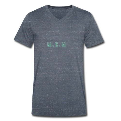 m.e.m - Ekologisk T-shirt med V-ringning herr från Stanley & Stella