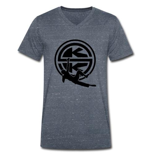 SKK_shield - Ekologisk T-shirt med V-ringning herr från Stanley & Stella