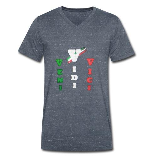 aresson - T-shirt ecologica da uomo con scollo a V di Stanley & Stella