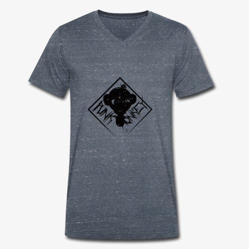 Punk Monkey - T-shirt bio col V Stanley & Stella Homme
