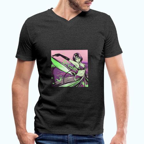 Dream drawing - Men's Organic V-Neck T-Shirt by Stanley & Stella