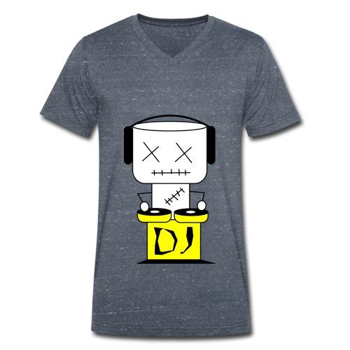 DJ Puppet XL - Männer Bio-T-Shirt mit V-Ausschnitt von Stanley & Stella