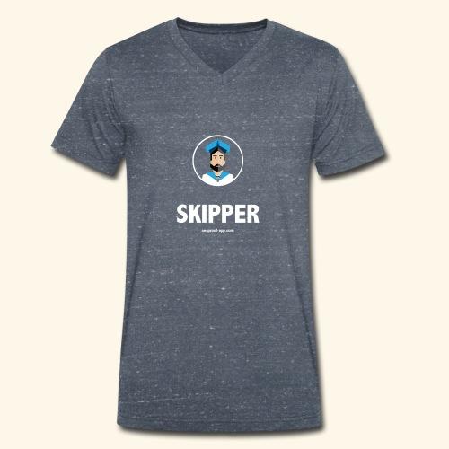 SeaProof Captain - Männer Bio-T-Shirt mit V-Ausschnitt von Stanley & Stella