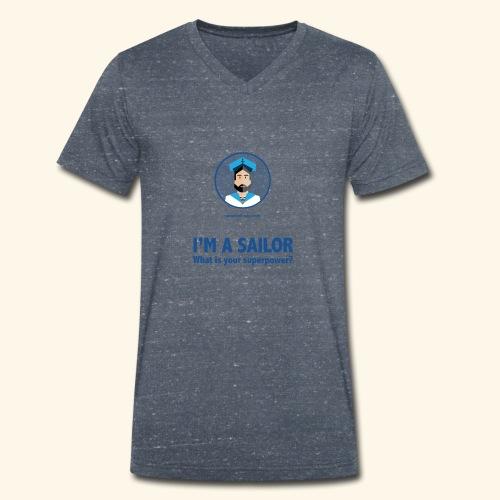 SeaProof Superpower - Männer Bio-T-Shirt mit V-Ausschnitt von Stanley & Stella
