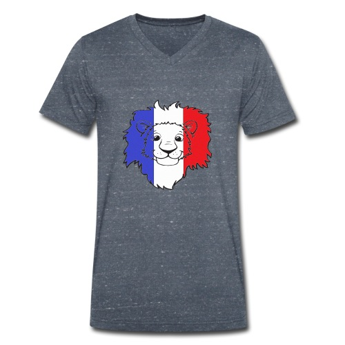 Lion France - T-shirt bio col V Stanley & Stella Homme