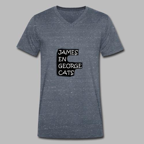 James en George (Limited Edition!) - Mannen bio T-shirt met V-hals van Stanley & Stella